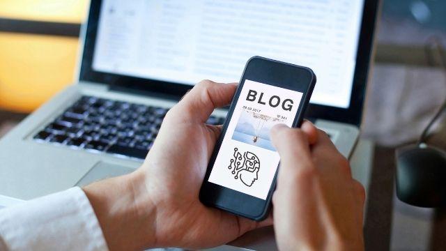 first blog end user